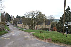 Approach from Burford